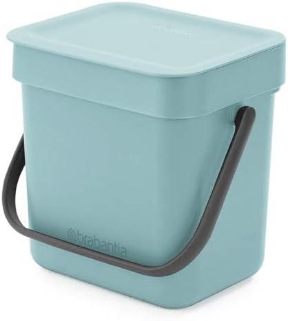 Brabantia Food Waste Caddy, 3L - Mint