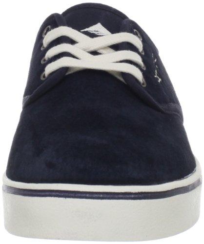 6 Tostado Para Con De Skate Us Zapato Hombre Cordones Marino D Azul Leo BAvgRq