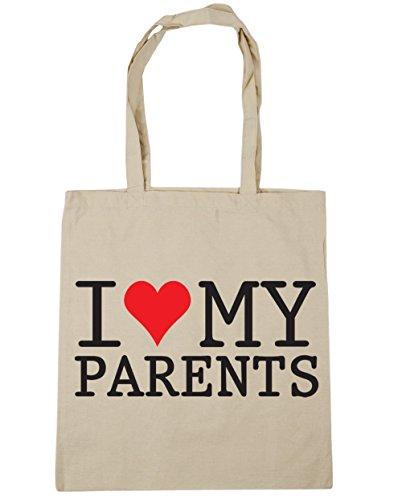 Litres Bag X38cm 42cm 10 My Beach Hippowarehouse I Shopping Tote Parents Gym Love 4wq7Wn6qp