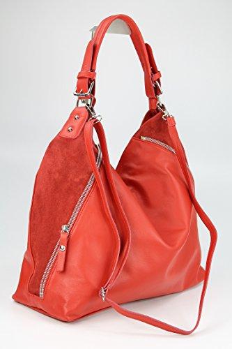 Belli - Borsa shopper Donna Rosso (rosso)