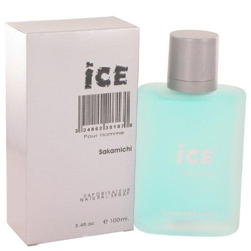 Sakamichi Ice - Sakamichi Ice Eau De Parfum Spray for Men, 3.4 Ounce