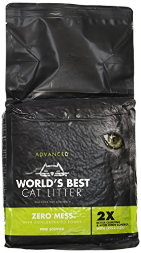 World's Best Zero Mess Advanced Cat Litter Pine Scented 6lb