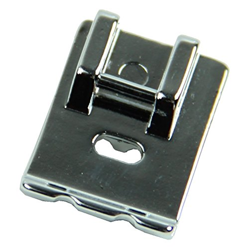 Piping / Double Welting Sewing Machine Presser Foot - Fits All Low Shank Snap-On Singer, Brother, Babylock, Euro-Pro, Janome, Kenmore, White, Juki, New Home, Simplicity, Elna and More! by SimSel White Double Piping