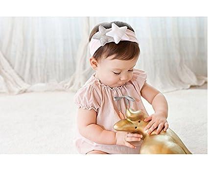 JMITHA reci/én nacido y beb/és arco del pelo de la venda el/ástico beb/é turbante pelo ni/ñas diadema arco reci/én nacido beb/é ducha regalo chica chicas diadema beb/é bandas para la cabeza