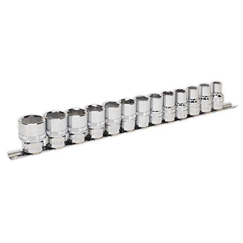 Sealey AK2742 Socket Set 13pc 1/2