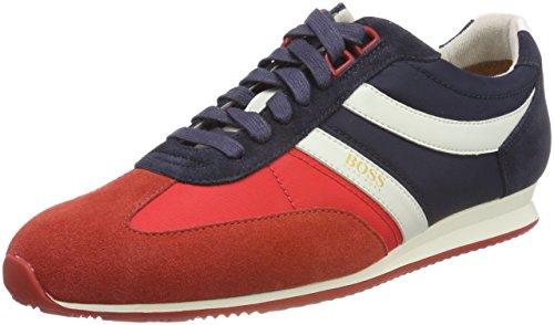 Baskets Hommes De Patron, Multicolore (rouge Ouvert 640)