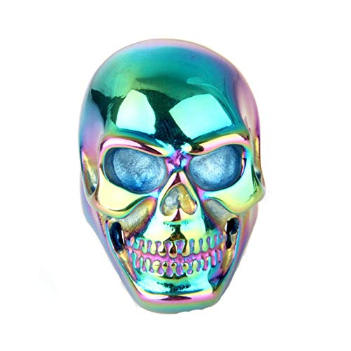 (MoAndy Stainless Steel Jewelry Stainless Steel Ring Men Band Ring Skull Size 13)
