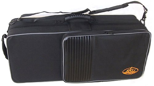SKY Lightweight Case for Alto Saxophone, Backpackable.IMPROVED ZIPPER(YKK)