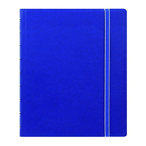 "Filofax Executive Size Notebook, 9.25"" x 7.25"", 112 Ruled Pages, Blue (B115903U)"