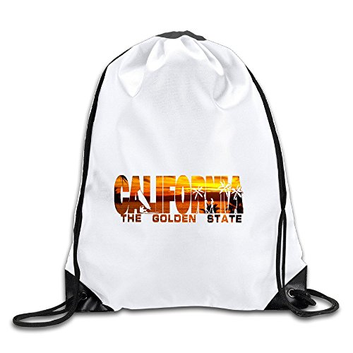 n State Drawstring Backpack Bag Gym Sack ()