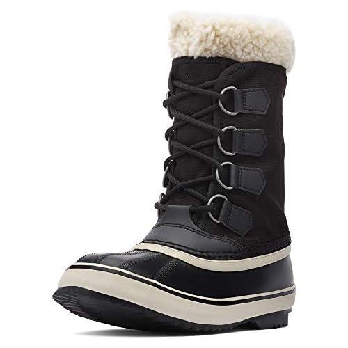chollos oferta descuentos barato Sorel Winter Carnival Botas de Invierno para Mujer Negro Black Stone 011 36 EU