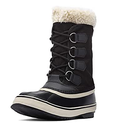 SOREL Womens 1308911 Winter Carnival Black Size: 5