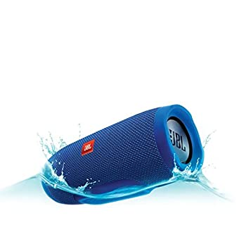 Jbl Charge 3 Waterproof Portable Bluetooth Speaker (Blue) 4