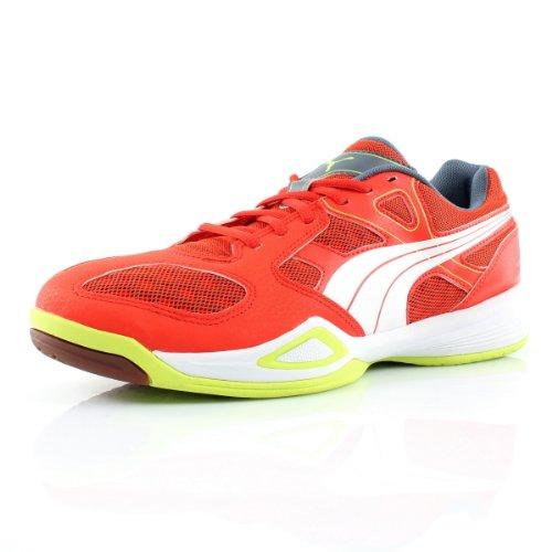 Puma Virante - Zapatillas deportivas para interior de material sintético unisex Rojo