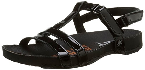 Art Damen I Breathe 889 Sandalen Noir (Total Black)
