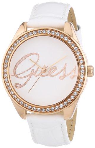 Guess Women's Quartz Watch Ladies Trend W0229L5 with Leather Strap