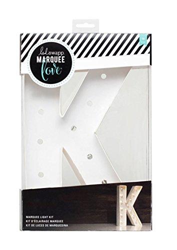 American Crafts 312410 Heidi Swapp Marquee Love Letter K 12