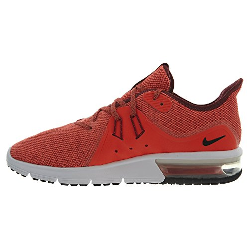 Sequent 3 Scarpe Fitness Black total Uomo Multicolore Team Red 600 da Nike Air Max pqwRTU