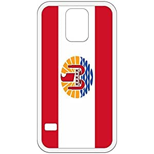 French Polynesia Flag White Samsung Galaxy S5 Cell Phone Case - Cover