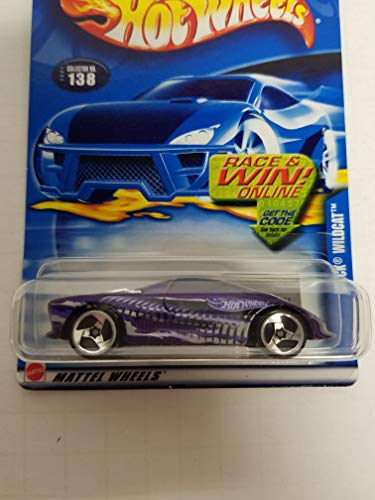 - Buick Wildcat Hot Wheels 2002 diecast 1/64 scale car No. 138
