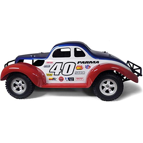 Parma 01254 40 Street Stock SC Coupe .040 Clear Body