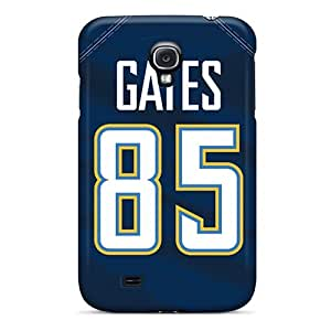 New Tpu Hard Case Premium Galaxy S4 Skin Case Cover(san Diego Chargers)