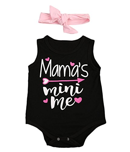 newborn-baby-girl-letter-romper-sleeveless-black-jumpsuit-playsuit-outfits-0-6-months