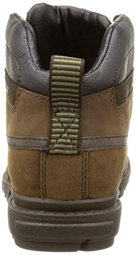 Cat Footwear GRADY WP - botas chukka de cuero hombre marrón - Braun (MENS ROPE)