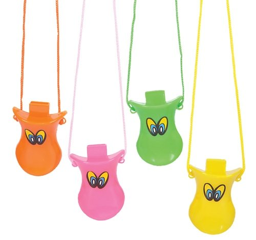 3'' DUCK BEAK WHISTLES, Case of 288