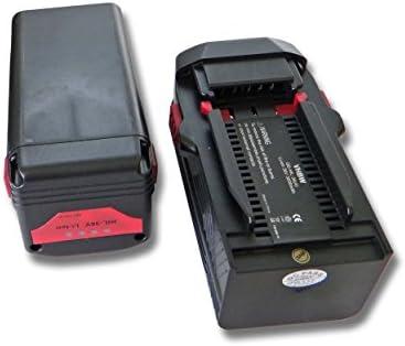 vhbw 3x Li-Ion bater/ía 3000mAh B36V. 36V TE7A por Hilti B36 TE 6A para herramientas Hilti TE6A