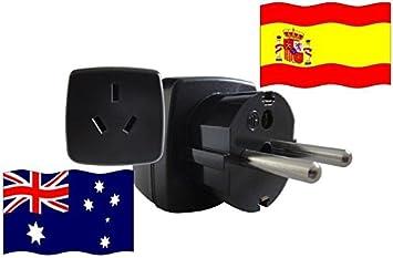 REISE SK - Adaptador de Viaje de España a Australia, 2200 Watt ...