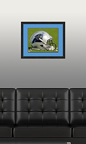 NFL Carolina Panthers, Beautifully Framed and Double Matted, 18