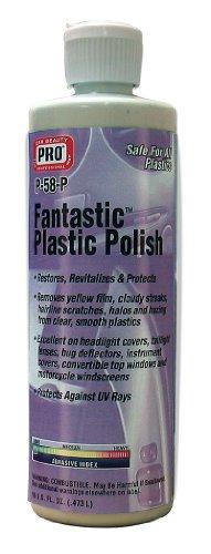 FANTASTIC PLASTIC POLISH - From Plastic Scratches Lenses Removing