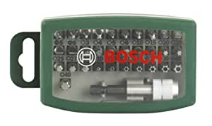 Bosch 2607017063 - Set de 32 unidades para atornillar