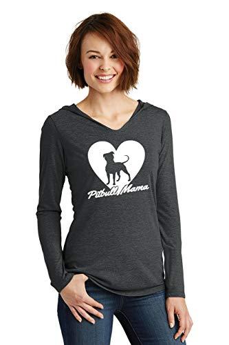 Comical Shirt Ladies Pitbull Mama Tee Pitt Bully Dog Lover Gift Tee Hoodie Shirt 2