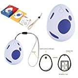 CtrlDepot Ray Pocket EGG for Pokemon Go Plus Auto Catch & Collect Catcher Bluetooth Adapter for IOS/Android (Blue)