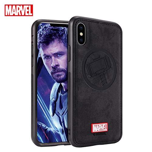 Marvel Avengers Endgame iPhone Xs Case/iPhone X Case, Thor (Black) ()