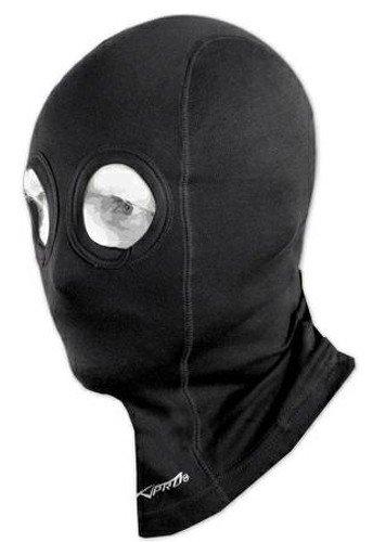 A-pro Sous Vetements Motard Masque Protege Visage Moto Casque Soie 100% noir 5180000026073