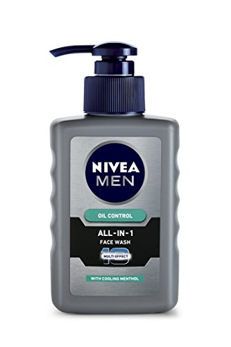 Nivea Men Oil Control All In One Face Wash - 150ml (Moisturizing Wash Men Face)