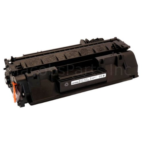 Remanufactured Replacement Laser Toner Cartridge for Hewlett Packard CF280A (HP 80A) Black