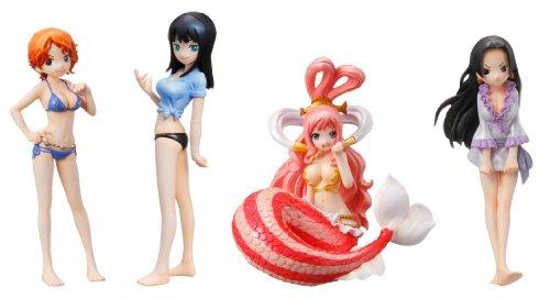One Piece Half Age Characters (Nami, Nico Robin,
