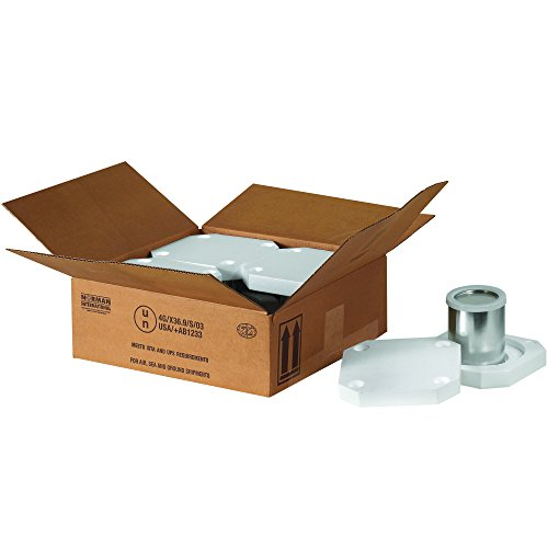 Box Usa Bhazfs4q Foam Haz Mat Shipper Kit 4 1 Quart 10