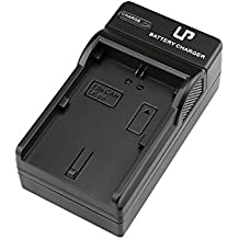 LP-E6 LP Battery Charger, Compatible with Canon EOS 5D Mark II, 5D Mark III, 5D Mark IV, 5DS, 5DS R, 6D, 6DMark II, 7D, 7D Mark II, 60D, 60DA, 70D, 80D, EOS R DSLR Cameras and More