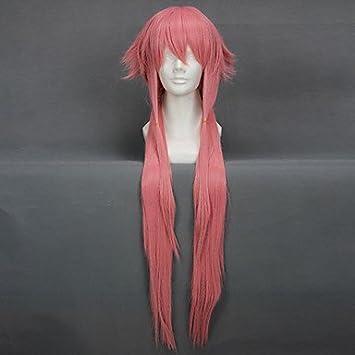 cosplay peluca inspirada en el futuro diario Gasai yuno