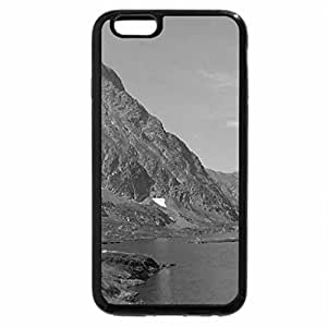 iPhone 6S Case, iPhone 6 Case (Black & White) - Mountains