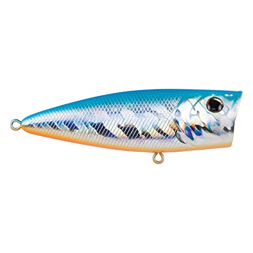 Berkley Bullet Pop Fishing Bait 70, 2/5 oz, Orange Blue, 70 2/5 oz