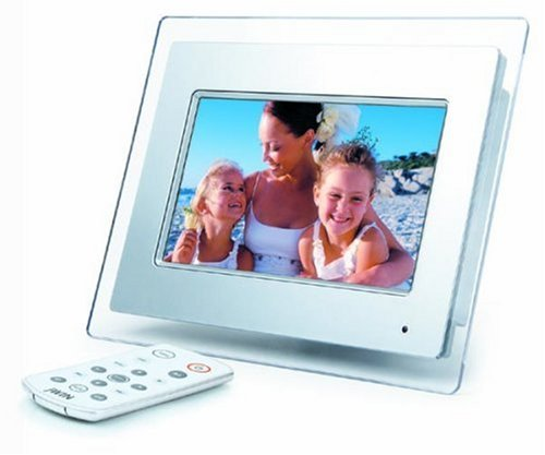 jWIN JP147 7-Inch LCD Digital Picture Frame (White)