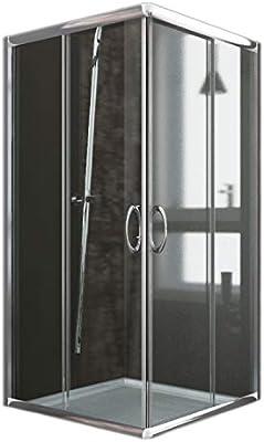 Idralite Box Mampara de Ducha Cuadrado 70x70 H185 Transparente 6mm ...