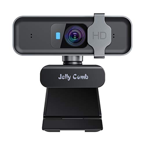 🥇 Jelly Comb Cámara Web Enfoque automático USB 1080P HD
