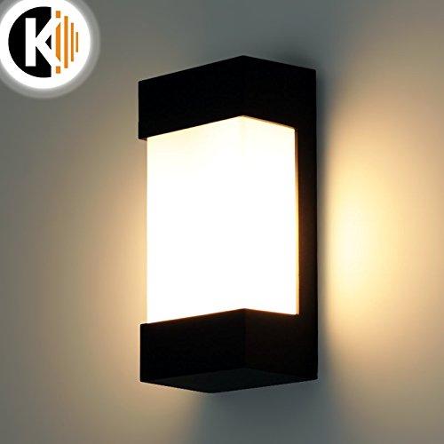 LED Leuchte Wandleuchte KATE E27 FASSUNG IP54 Aussenleuchte Außenlampe Wandlampe Gartenleuchte Flurleuchte 230V Kwazar Leuchte
